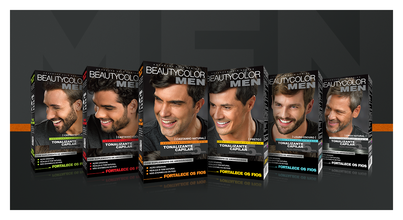 coloração masculina Beautycolor