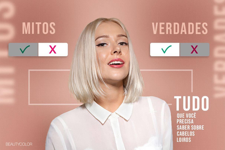 Mitos e verdades: o que você precisa saber sobre cabelos loiros